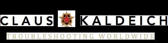 Troubleshooting Worldwide – Prof. Dr. Claus Kaldeich